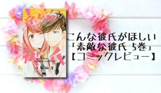 こんな彼氏がほしい「素敵な彼氏 5巻」【コミックレビュー】