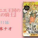 「マロニエ王国の七人の騎士 3巻」ネタバレ11話 最新話